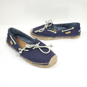 Sperry Top Sider Katama Navy Espadrille Mesh